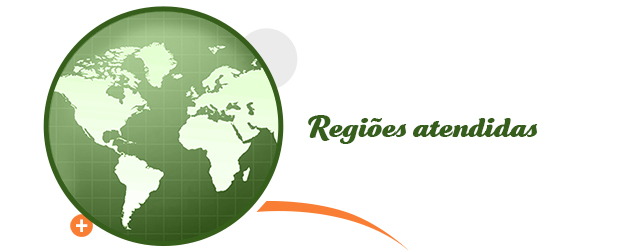 Regiões Atendidas